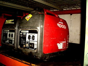 One Used Honda Generator Eu2000i Eu2000 Portable Quiet Inverter Parallel Gas