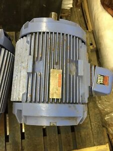 Ge 60 Hp Electric Motor 208 416 Vac 1785 Rpm 365t Frame 3 Phase