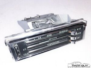 Rblt 67 72 Chevy Truck 65 66 Impala A c Heater Control Ac Air Conditioning Heat