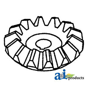 A 235818m2 Massey Ferguson Parts Gear Bevel 300 410 510 540 550