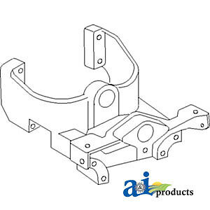 A 826890m2 Massey Ferguson Parts Front Bolster Support 2135 To35 135 135 Uk