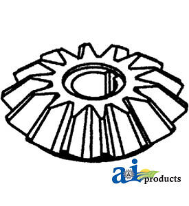 A 250663m2 Massey Ferguson Parts Bevel Gear 14t 300 410 510 540 550