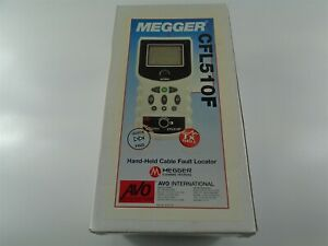 New Megger Avo Cfl510f Hand held Cable Fault Locator
