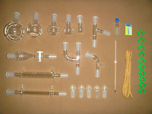 Organic Chemistry Lab Glassware Kit 24 40 lab Glassware Kit 24 40 lab Glassware