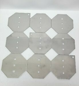 Hho Stainless Steel Plates Kit 9 316l Save Fuel Gas Mpg Hydrogen Generator