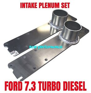Ford Powerstroke 7 3 Custom Intake Manifold Set Billet Aluminum High Boost