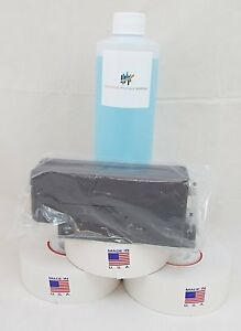 Red Ink Cartridge pps 766 8 For Dm Series 3 Pk Meter Rolls 16 Oz Of Solution