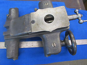 Southbend 9 420 z Metal Lathe Carriage Saddle Rest Base Apron Assembly D 049