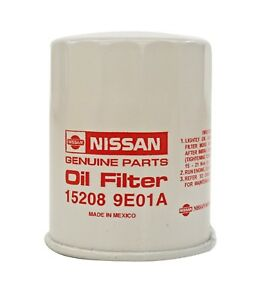 Genuine Nissan Oil Filter 1995 2018 15208 9e01a With Washer Qty 1 Oem