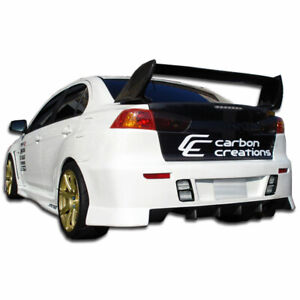 Lancer 10 Gt Concept Rear Bumper Body Kit 1 Pc For Mitsubishi Evoluti
