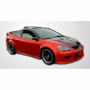 Gt300 Wide Body Side Skirts Rocker Panels 2 Piece Fits Acura Rsx 02 04 Dura