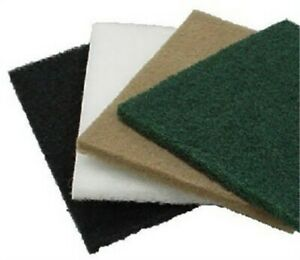 12x18 Wht Thick Pad no 416 54187 Virginia Abrasives Corp pk5