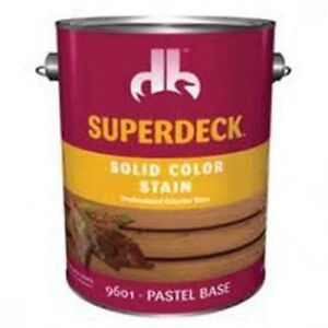 Superdeck Self Priming Solid Deck Siding Stain no Db0096014 16 pk4