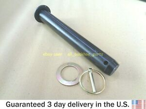 Jcb Backhoe Rear Bucket Pin With Lynch Pin Washer part No 911 12400