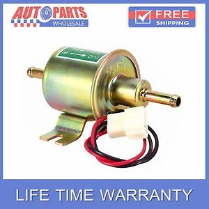 12v New Universal Electric Fuel Pump Inline Diesel Petrol 1 2a 3 6psi Hep 02a Aw