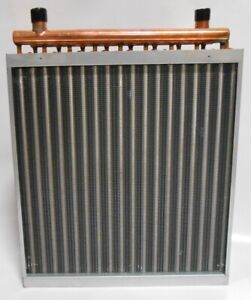 16x18 Water To Air Heat Exchanger Hot Water Coil Outdoor Wood Furnace