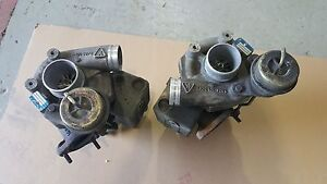 Porsche 996 911 Turbos And Exhaust Headers rh Lh Complete
