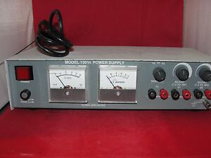 Global Specialties Model 1301a Power Supply