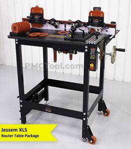 Jessem Mast r lift Ii Excel Premium Router Table With Clear Cut Guides