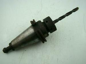 Parlec Milling Tool Holder With Milling End Drill Bit 3 75 Long
