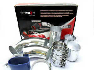 Custom Made Adjustable Cold Air Intake Pipes Kit Universal Fit Most Of Cars