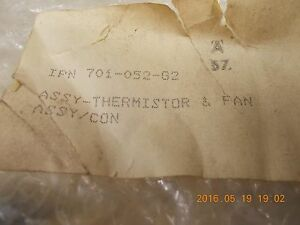 Leybold Inficon 701 052 g2 Thermistor Fan