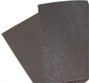 20 Grit 12 x18 Virginia Abrasives Quicksand Orbital Sanding Sheets Box Of 20