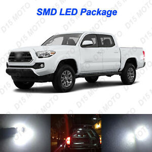 13 X Untra White Led Fog Reverse Interior Light Kit For 2012 2016 Toyota Tacoma