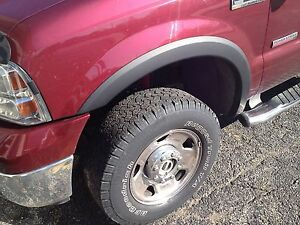 Oe Style Fender Flares Oe Style 99 07 All Trim Ford F250 350 Free Shipping