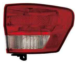 New Right Passenger Outer Tail Light Fit For 2011 2012 2013 Jeep Grand Cherokee