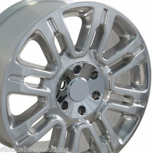 F150 Platinum 20 Polished Wheels 20 Platinum Ford Rims 4 New Truck 3788