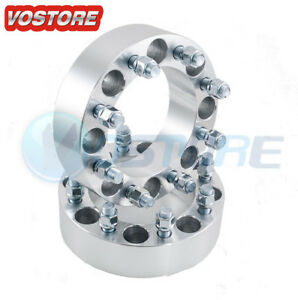 2 8x6 5 Wheel Spacers 2 9 16 Studs 8 Lug Adapters For Dodge Ford Chevy
