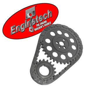 Stock Timing Chain Set For Chevrolet Sbc 305 307 327 350 400 W Flat Tappet Cam