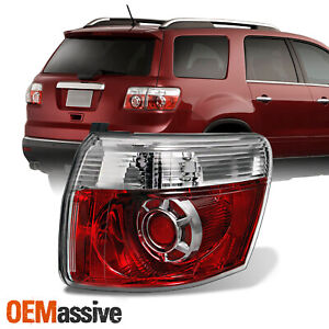 Fit 07 12 Gmc Acadia Led Tail Lights Lamp Passenger Right Replacement