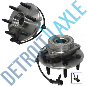 Brand New Complete Front Wheel Hub And Bearing Assembly Set For 4x4 Trucks Only