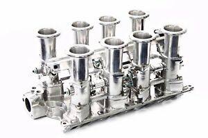 Sbf 351w Polished Aluminum Efi Fuel Injection Hilborn Style Down Draft Ford