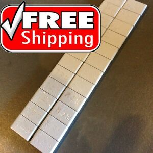Wheel Weights Stick On Adhesive Tape Weight 1 4 Oz 0 25 24 Pcs