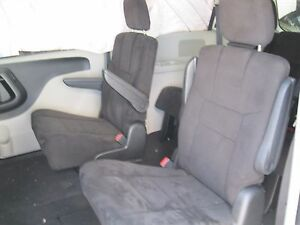 13 Dodge Grand Caravan Front Second Middle Row Rear Bucket Seats Cloth Black