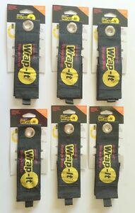 6 X large Wrap it Heavy Duty Storage Straps To Hang Items On Hooks Pegboard