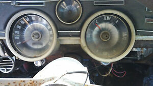 1967 Mercury Cougar Speedodmeter temp Clock Dash Guages