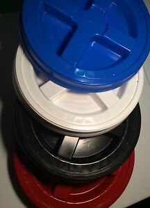 Gamma Seal Lid heavy Duty Set Of 4 Kitchen Household Auto Boat Detailing