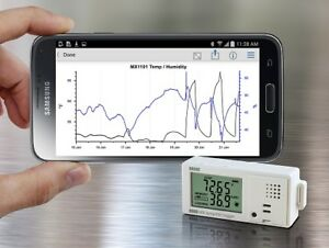 Onset Mx1101 Hobo Temperature rh Bluetooth Data Logger With Free App Download