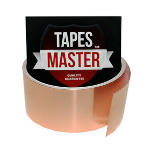 Copper Foil Tape 1 5 X 10ft Emi Conductive Adhesive Ship From Usa