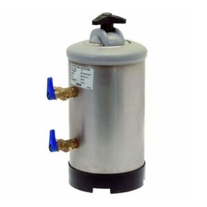 New 2 Group Commercial Espresso Machine Water Softener Filter 8 Liter s
