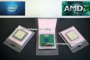 Cpu Clam Shell Case For Intel Amd Processor With Anti Static Foam Qty 20 New