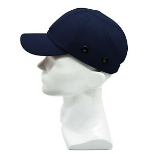Blue Baseball Bump Caps Lightweight Safety Hard Hat Head Protection Caps