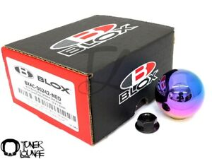 Blox Racing 490 Limited Spherical Shift Knob Neo Chrome 12x1 25mm Toyota Subaru