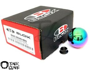 Blox Racing 490 Limited Spherical Shift Knob Neo Chrome 10x1 5mm Honda Acura