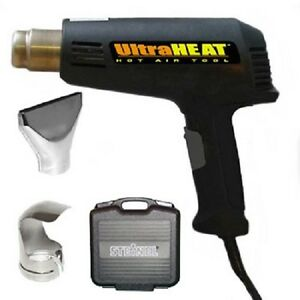 Steinel Ultraheat Variable Temperature Heat Gun And Accessory Kit 34104