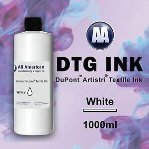 Dtg Ink White 1000ml Dupont Artistri Ink Best Direct To Garment Printer Ink